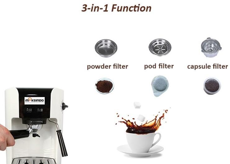 Mesin Kopi Espresso Semi Auto - MKP50 7