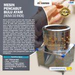 Jual Mesin Pencabut Bulu Unggas di Surabaya