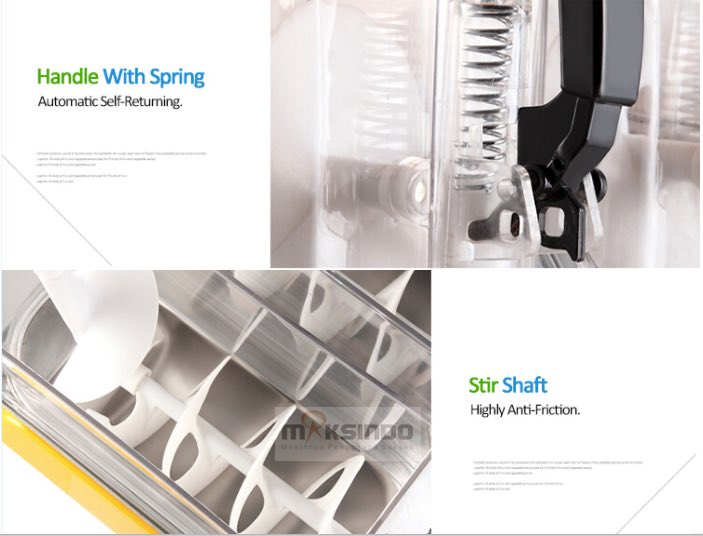 Mesin Slush (Es Salju) dan Juice - SLH01 6