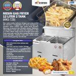 Jual Mesin Gas Fryer 12 Liter 2 Tank (MKS-72B) di Surabaya