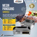 Jual Mesin Pemanggang Griddle (GAS) – GG718 di Surabaya