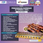 Jual Pemanggang BBQ 10 Tungku (Gas) di Surabaya