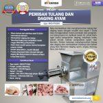 Jual Pemisah Tulang Dan Daging Ayam PTA-300 di Surabaya