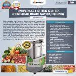 Jual Universal Fritter 5 Liter (MKS-UV5A) di Surabaya
