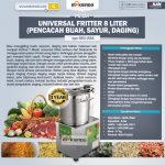 Jual Universal Fritter 8 Liter (MKS-UV8A) di Surabaya