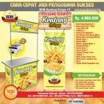 Paket Usaha Kentang Krispy Program BOM