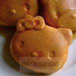 Jual Mesin Cetak Kue/Waffle Bentuk Hello Kity (Kitty1) di Surabaya