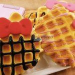 Jual Mesin Waffle Bentuk Hello Kitty (Kitty2) di Surabaya