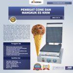 Jual Pembuat Cone dan Mangkuk Es Krim (CIC14) di Surabaya