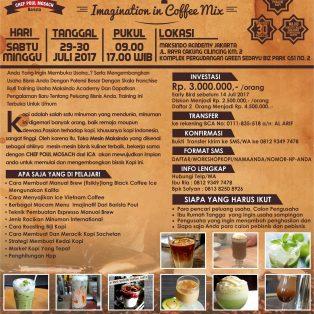 Workshop Coffee, 29 – 30 Juli 2017