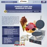 Jual Pembuat Cone dan Mangkuk Es Krim (CIC21) di Surabaya