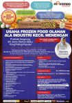 Training Usaha Frozen Food, 22-24 September 2017