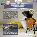 Jual Mesin Penepung Jagung dan Biji-Bijian (MD15) di Surabaya