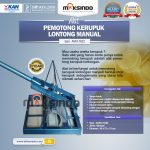 Jual Alat Pemotong Kerupuk Lontongan Manual di Surabaya