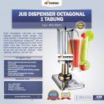 Jual Jus Dispenser Octagonal 1 Tabung  (DSP31) di Surabaya