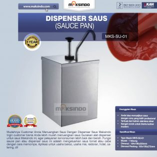 Jual Dispenser Saus (Sauce Pan) SU-01 di Surabaya