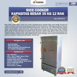 Jual Rice Cooker Kapasitas Besar 35 Kg 12 Rak di Surabaya