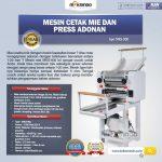 Jual Mesin Cetak Mie dan Press Adonan MKS-900 di Surabaya