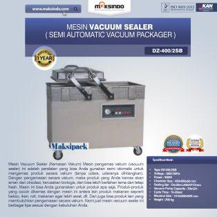 Jual Mesin Vacuum Sealer (DZ400/2SB) di Surabaya