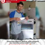Didi Ice : Terbantu Dalam Usaha Produksi Ice Kristal Dengan Mesin Ice Cube Maksindo