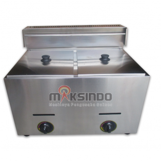 Mesin Gas Fryer MKS-7Lx2