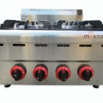Counter Top 4-Burner Gas Range