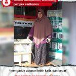 Pempek Saribanon : Mesin Maksindo Membantu Proses Pengadukan