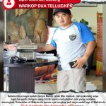 Warkop Dua Tellue/KPK: Mesin Cetak Mie listrik Maksindo Membantu Meingkatkan Hasil Produksi