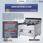 Jual Mesin Gas Fryer 34 Liter (MKS-182) di Surabaya