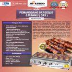 Pemanggang BBQ Stainless (gas) 6 Tungku
