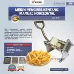 Mesin Pengiris Kentang Manual Horizontal (KG-02)
