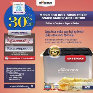 Jual Mesin Egg Roll Sosis Telur Snack Maker 4in1 Listrik di Surabaya