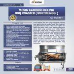 Mesin Kambing Guling BBQ Roaster (GRILLO-LMB44)
