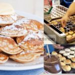 Mesin Mini Pancake Poffertjes Gas 25 Lubang MPC25