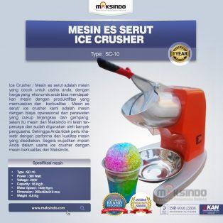 Mesin Ice Crusher SC-10