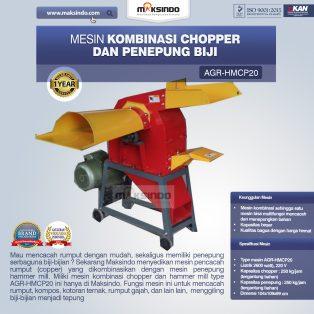 Jual Mesin Kombinasi Chopper dan Penepung Biji (HMCP20) di Surabaya