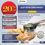 Jual Alat Cetak Long Potato MKS-LPCT30 di Surabaya