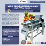 Jual Mesin Peras Santan dan Buah (Industrial Juicer) di Surabaya