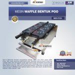 Mesin Waffle Bentuk Poo (MKS-POO4)