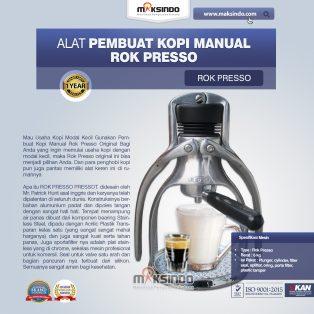 Jual Pembuat Kopi Manual Rok Presso di Surabaya