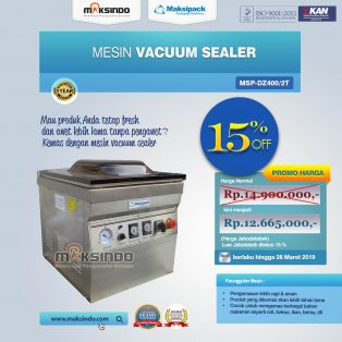Vacuum Sealer MSP-DZ400/2T