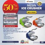 Mesin Ice Crusher MKS-CRS20