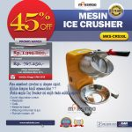 Mesin Ice Crusher MKS-CRS30L