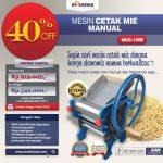 Jual Cetak Mie Manual Untuk Usaha (MKS-150B) di Surabaya