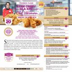 Training Class Ayam Crispy Ala KFC, Sabtu 28 April 2019