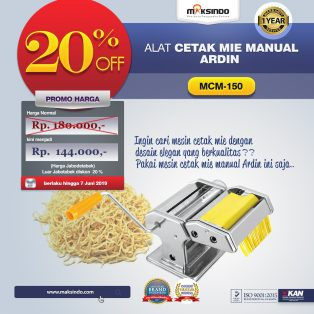 Jual Cetakan Mie Manual Rumah Tangga ARDIN di Surabaya