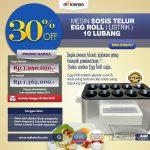 Jual Mesin Pembuat Egg Roll (Listrik) di Surabaya