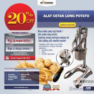 Jual Alat Cetak Long Potato MKS-LPCT50 di Surabaya