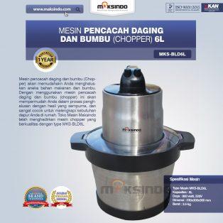 Jual Mesin Pencacah Daging dan BumbuMKS-BLD6L di Surabaya