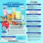 Training Usaha Aneka Minuman Kekinian, Sabtu, 20 April 2018